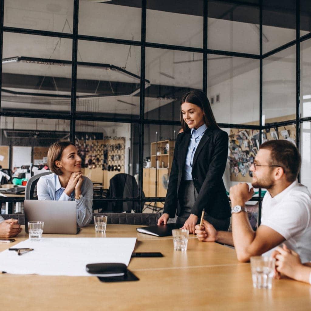 Für Unternehmen Konferenzraum